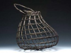 Black Onion Basket by Billie Ruth Sudduth