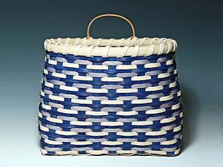 Photo of Billie Ruth Sudduth's Blue RIdge Wall Basket