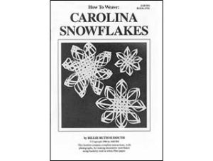 Photo of How To Weave Carolina Snowflakes Book by Billie Ruth Sudduth
