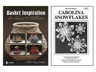 How To Weave Carolina Snowflakes Book Cover