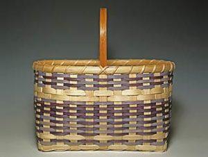 Photo of Billie Ruth Sudduth's Carolina Blue Basket