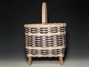 Photo of Billie Ruth Sudduth's Carolina Blue Swing Handle Basket