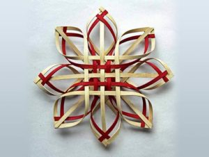Photo of Billie Ruth Sudduth's Carolina Snowflake in Red and Walnut