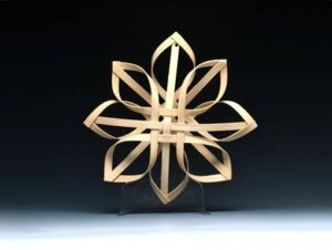 Photo of Billie Ruth Sudduth's Carolina Snowflake in Walnut