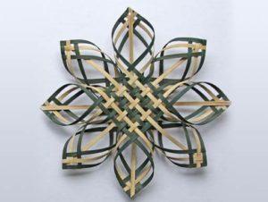 Photo of Billie Ruth Sudduth's Carolina Snowflake in Green and Walnut