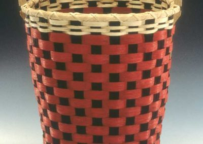 Checkerboard Bushel Basket