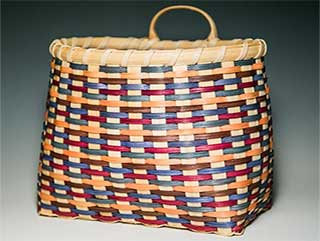 Photo of a large pantry basket