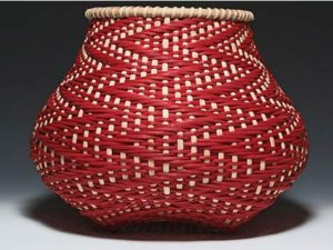 Photo of Billie Ruth Sudduth's Fibonacci basket