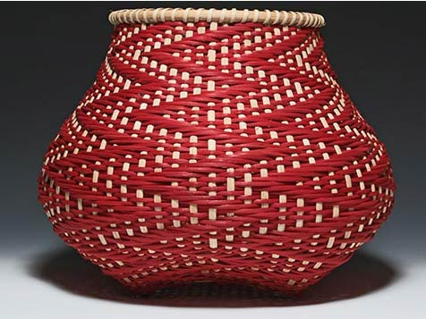 Photo of Billie Ruth Sudduth's Fibonacci 8 Basket