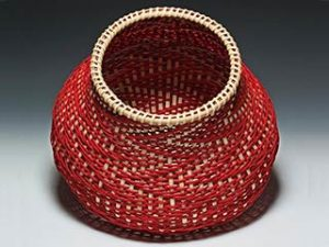 Photo of Billie Ruth Sudduth's ibonacci basket