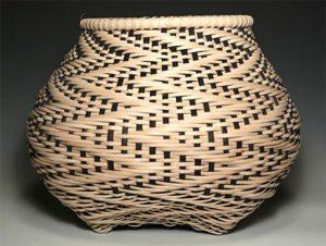 Photo of Billie Ruth Sudduth's Fibonacci in Reverse Basket