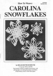 How TO Make Carolina Snowflakes Book Color