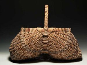 Oak Egg Basket by Billie Ruth Sudduth