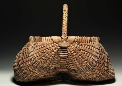 Oak Egg Basket
