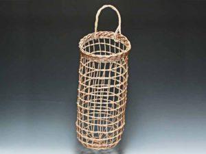 Onion Potato Basket in Walnut by Billie Ruth Sudduth