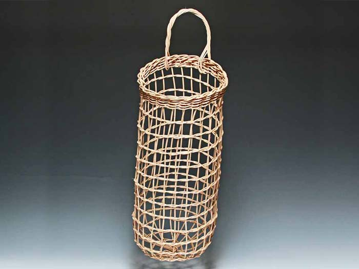 Potato Onion Basket in Walnut by Billie Ruth Sudduth