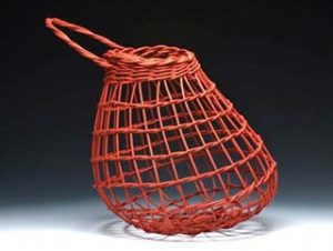 Photo of Billie Ruth Sudduth's Onion Basket in Red