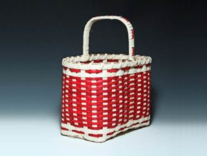 Photo of Billie Ruth Sudduth's Red Salem Basket