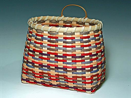 Billie Ruth Sudduth's Victorian Wall Basket
