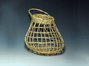Yellow Onion Basket by Billie Ruth Sudduth