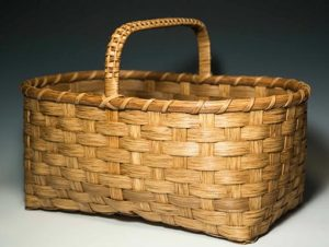 Photo of Billie Ruth Sudduth's Large Appalachian Market Basket