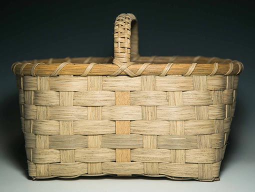 Photo of Billie Ruth Sudduth's Small Appalachian Gathering Basket