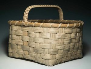 Photo of Billie Ruth Sudduth's Small Appalachian Gathering Basket